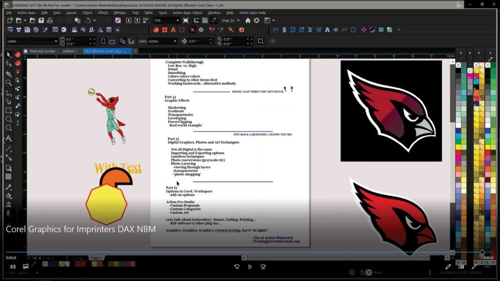 Corel Graphics for Imprinters