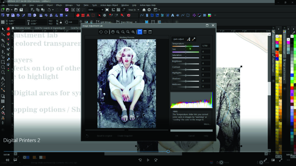 Corel for Digital Print -2- Sublimaters