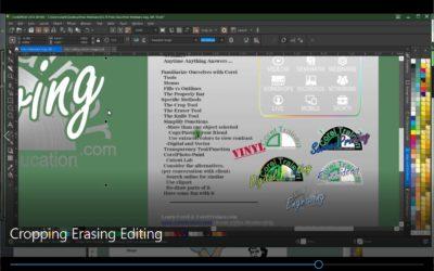 Cropping Erasing Editing