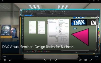DAX 2020 Virtual Seminar -Design Basics for Business