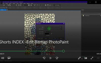 Edit Bitmap PhotoPaint