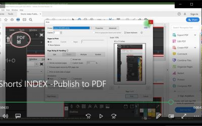 Publish to PDF